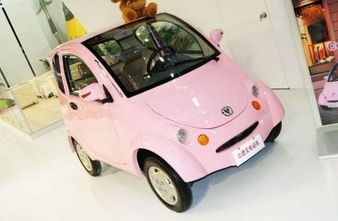 CoCo可可可人电动车亮相电动车大会