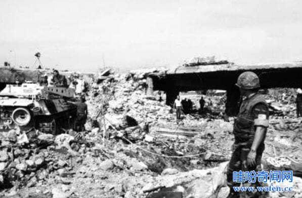 惨烈的美国贝鲁特爆炸案241名美国大兵在睡梦中死去
